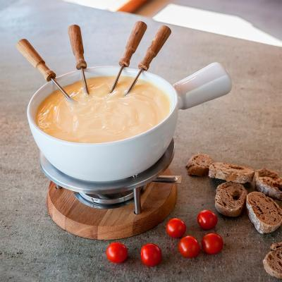 Fondue formatge Boska Bianco ceràmica 1L