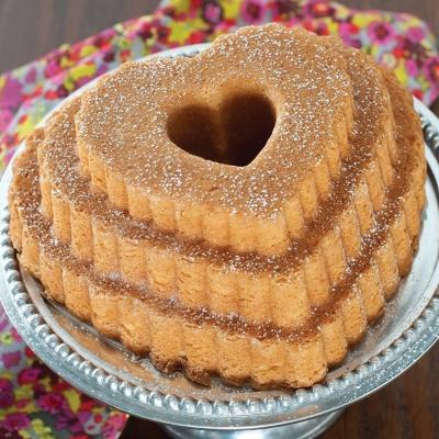 Motllo pastís Nordic Ware Cor escalat Bundt