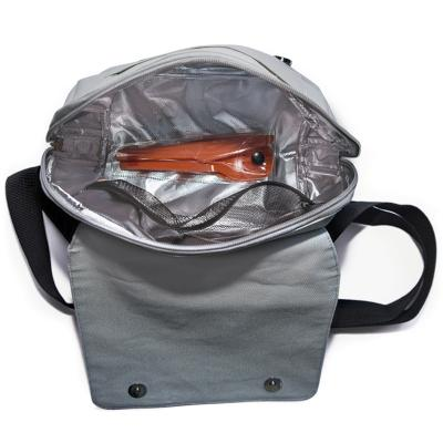 Carmanyola bossa My lunch bag espiga negre