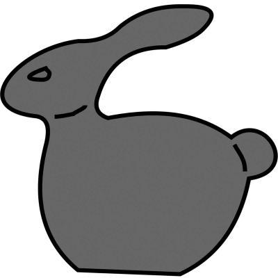 Motllo Mona pasqua xocolata Conillet