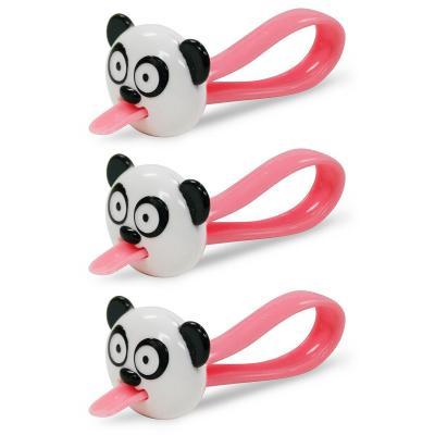 Set 3 pinces per tancar bosses Panda