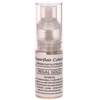 Spray comestible purpurina Or regal