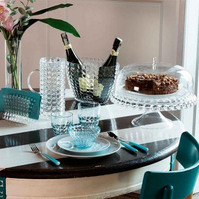 Expositor pastissos alçat amb campana Tiffany