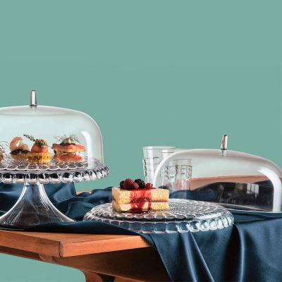 Expositor pastissos a/ campana Tiffany transparent