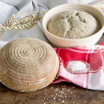 Banetton cistell rattan per fermentar  pa rodó 17