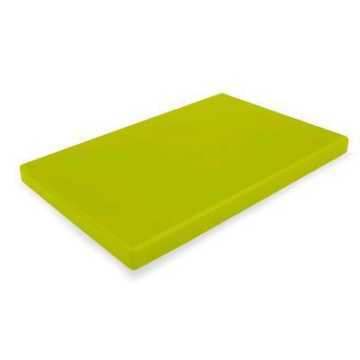 Tabla cortar polietileno 40x30x2 cm pistacho