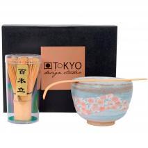 Set 3 piezas té Matcha Sakura