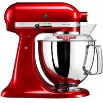 Robot Kitchen aid Artisan 5KSM175 PSECA rojo met.