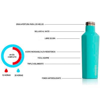 Ampolla tèrmica acer Corkcicle 750 ml