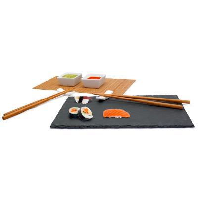 Set sushi presentació pissarra 8 peces