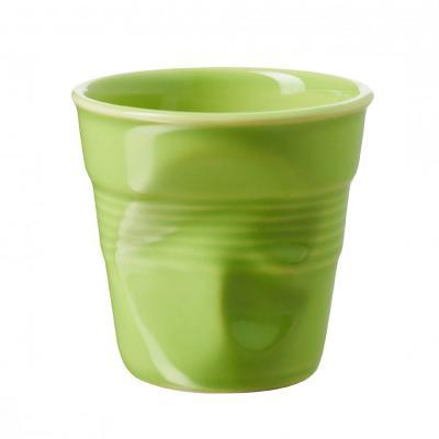 Tassa espresso arrugada Revol 80 ml verd
