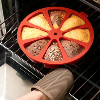 Motllo rodó silicona Cake Portion 8 cav