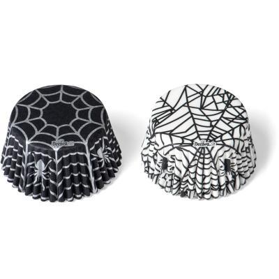 Paper cupcakes x36 Spider