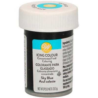 Colorant en pasta Wilton 28 g blau cel