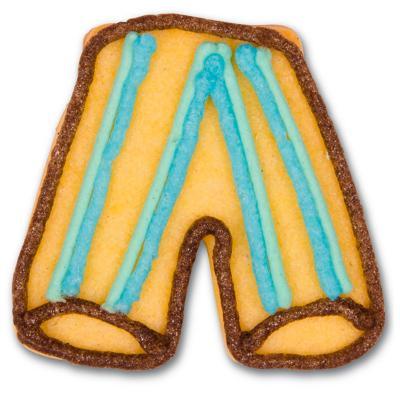 Tallador galetes pantaló futbol 6 cm