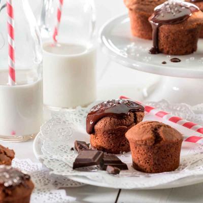 Motllo mini cupcakes x11 silicona Lekue