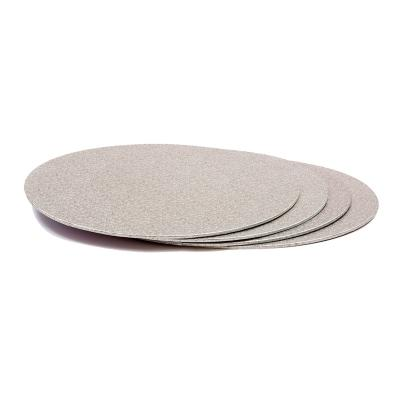 Base per pastissos rodona plata 3 mm