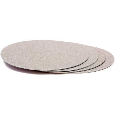 Base para pasteles redonda plata 3 mm