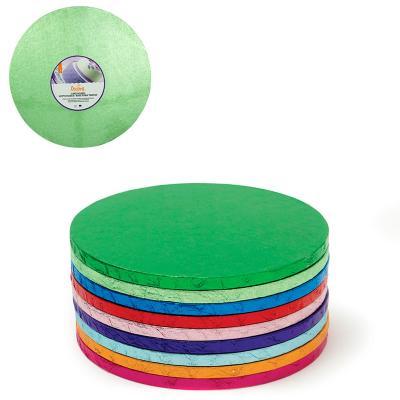 Base per pastissos rodona verd clar
