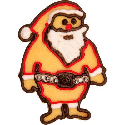 Tallador galetes Pare Noel relleu 8 cm