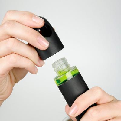 Raspall llarg amb dosificador sabó i mànec