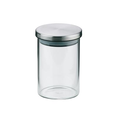 Pot de cuina vidre borosilicat tapa acer