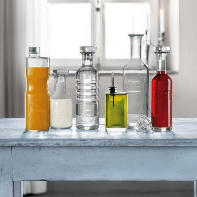 Ampolla vidre amb tap per suc Optima Juice 1 L