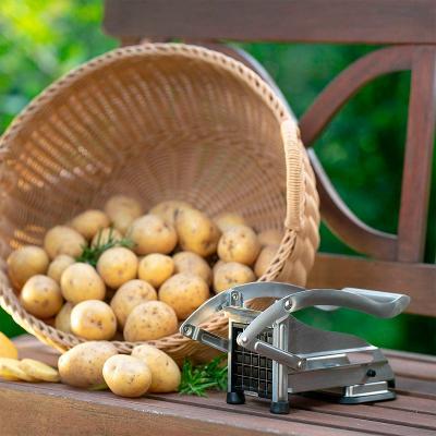 Tallador de patates tres cutxilles acer