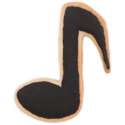 Tallador galetes nota musical 7 cm