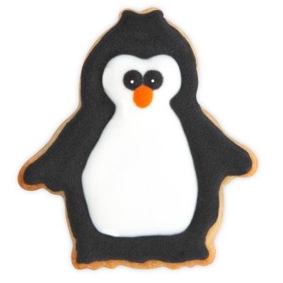 Tallador decorador pingüí 6 cm