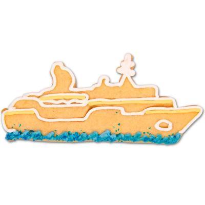 Tallador galetes vaixell creuer 10 cm
