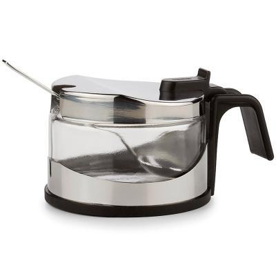 Sucrera salsera inox amb cullera