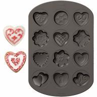 Motllo alumini antiadherent galetes x 12 cav Cors