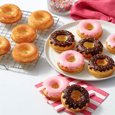 Motllo donut metàl·lic Wilton 6 cav.