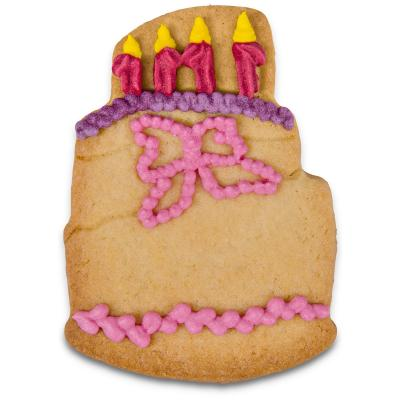 Tallador galetes pastís aniversari 8 cm