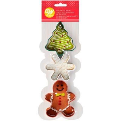 Set 3 talladors galetes Nadal i Ginger