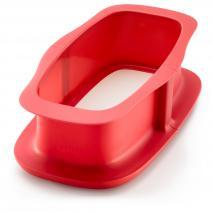 Molde rectangular silicona desmontable 24 cm