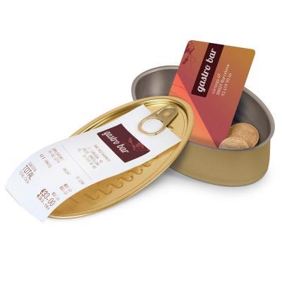 Set 10 llaunes conserva oval tapa i apertius