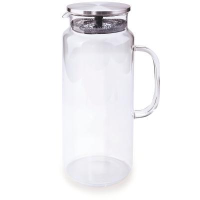 Jarra de agua cristal con tapa