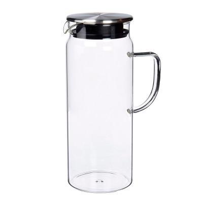 Gerra aigua vidre nevera amb tapa