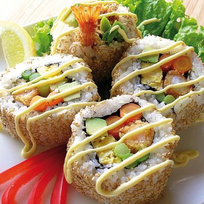 Esterilla per sushi FutoMakisu 28x28 cm