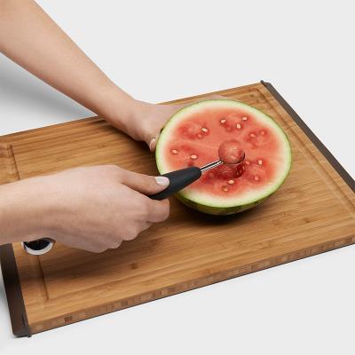 Buidador doble fruites i verdures boles 25-30 mm