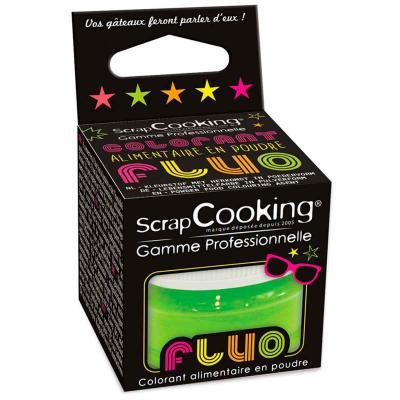 Colorant alimentari pols Fluorescent verd 3 g