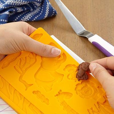 Motllo fondant & gum paste Animals Selva