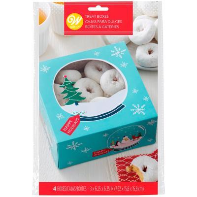 Set 3 Caixes per a dolços Bola de neu