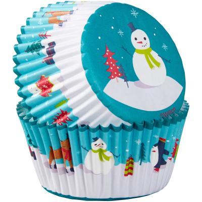 Paper cupcakes x75 Ninot neu