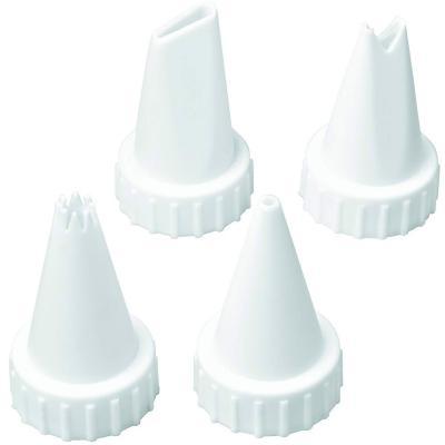 Set de 4 boquilles plàstic amb rosca Wilton