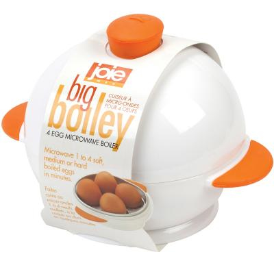Bullidor d'ous per microones x4 Big Boiley