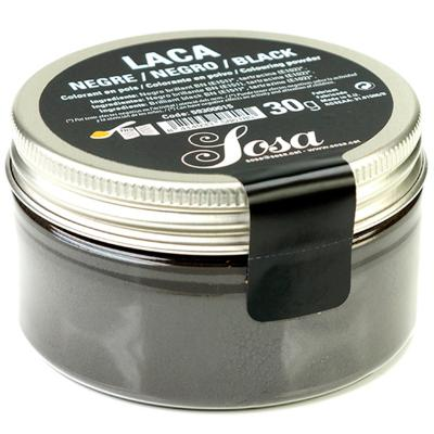 Colorant laca liposoluble pols 30 g negre