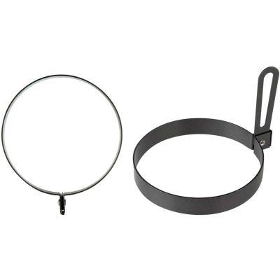 Motllo ou fregit metàl·lic antiadherent cercle